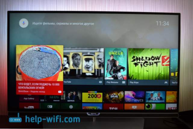 Philips TV na pregledu Android TV i moju recenziju